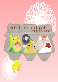 Cute little bird pack ver.Pink