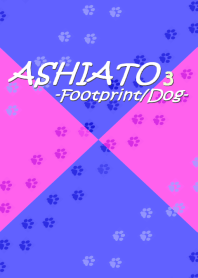 ASHIATO 3 -Dog- Purple & Pink