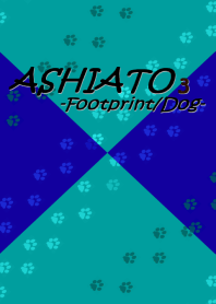 ASHIATO 3 -Dog- Smoky Blue & Deep Blue