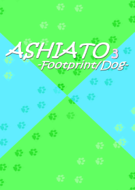 ASHIATO 3 -Dog-Light Blue & Light Green