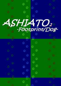 ASHIATO 2 -Dog-Green × Blue
