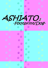 ASHIATO 2 -Dog-Light blue × Pink