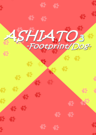 ASHIATO 3 -Dog- Pink & Yellow