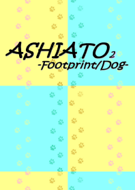 ASHIATO 2 -Dog-Yellow × Light blue